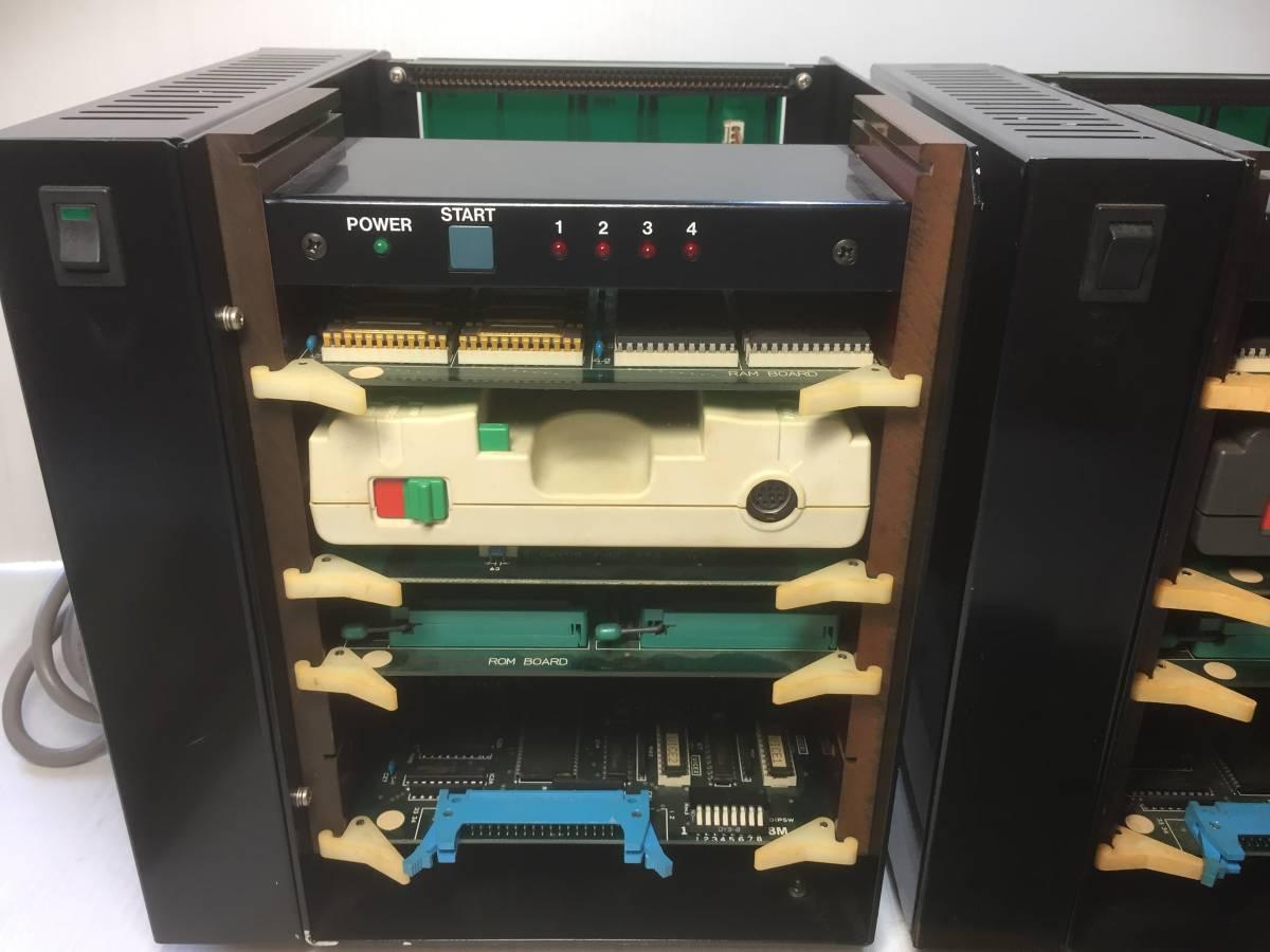 PCエンジン開発機  Hu7 SYSTEM 1987 HUDSON SOFT まとめてジャンク品2台!_画像2