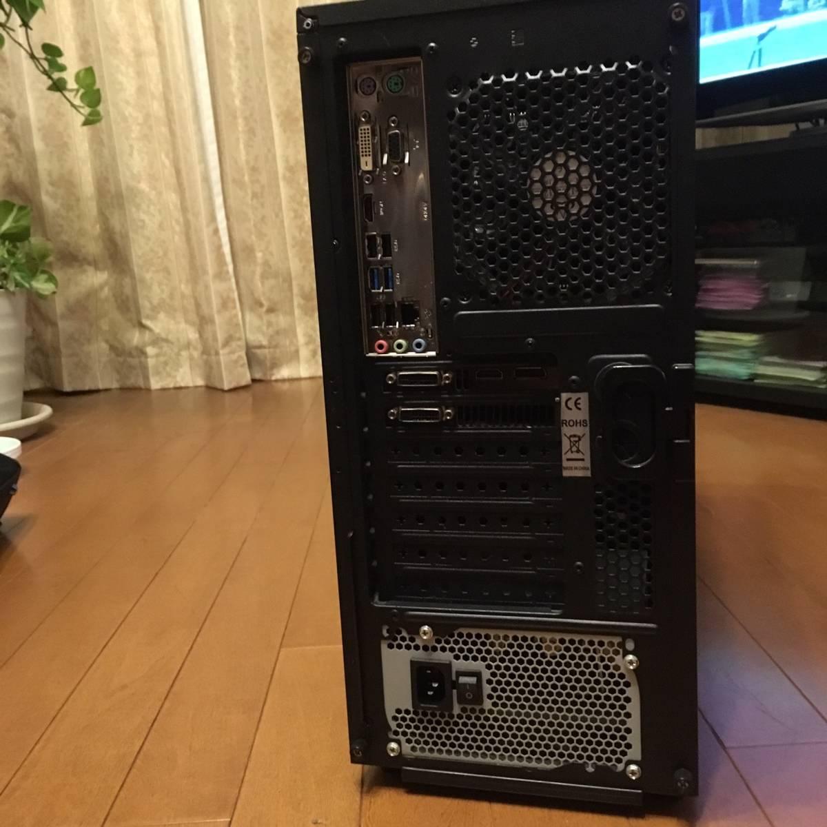 自作 Core i7 3770 メモリ16GB SSD120GB HDD2基合計1.5TB ブルーレイ GTX680 Win10Pro 64ビット認証済み 一部難あり 通常動作品_画像8