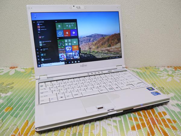 【高速Core i5(Arrandale)★最新Windows10】SH55/C 富士通 ホワイト HDD750GB ★ メモリ4GB HDMI Wi-Fi Office2016
