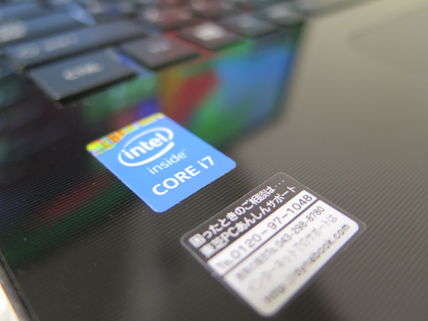 フルHD T75/TB【高速Core i7(Broadwell)第5世代★爆速新SSD640GB】東芝 ブラック 最新Windows10 ★メモリ16GB Blu-ray Wi-Fi Office2016_画像7