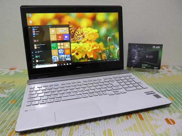 フルHD NS750/B【高速Core i7(Broadwell)第5世代★爆速新SSD640GB】NEC ホワイト最新Windows10★メモリ16GB Blu-ray Wi-Fi HDMI Office2016