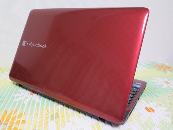 【高速大容量★最新Windows10】東芝 T451/34ER レッド HDD750GB CPU Dual-Core ★ メモリ4GB Wi-Fi HDMI Office2016_画像3