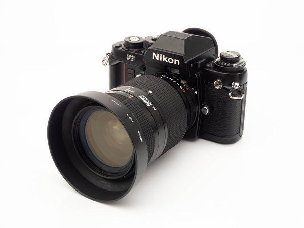 DB042. Nikon ニコン F3 一眼レフフィルムカメラ AF NIKKOR 35-70mm 1:2.8D レンズ付属