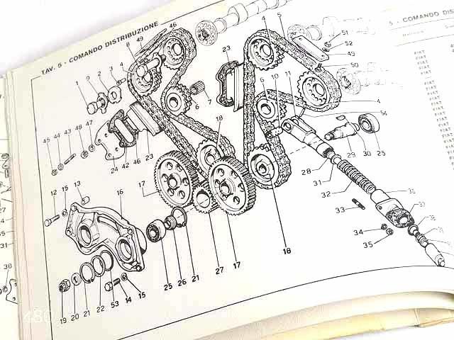 希少/フェラーリ/Ferrari Dino246GTオリジナルパーツカタログ★中古品★0521_画像7
