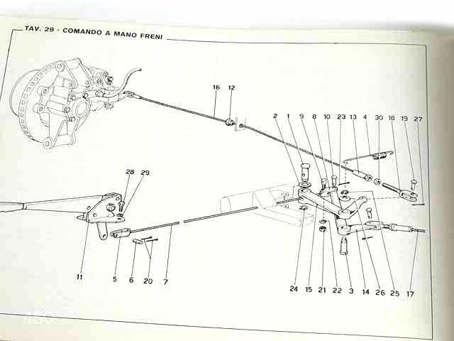 希少/フェラーリ/Ferrari Dino246GTオリジナルパーツカタログ★中古品★0521_画像8