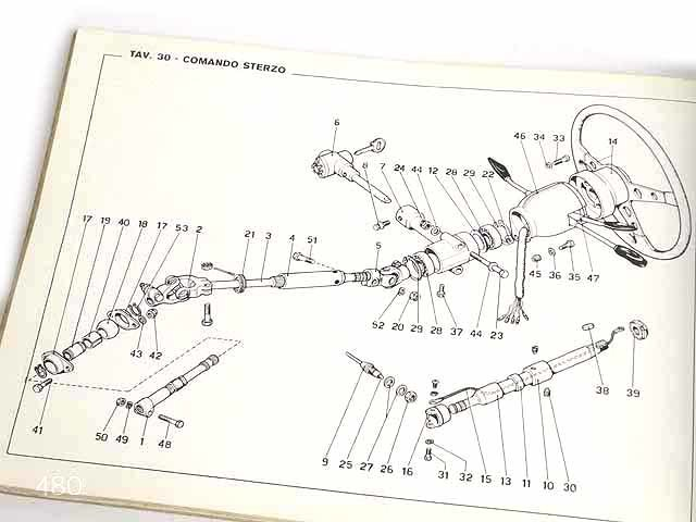 希少/フェラーリ/Ferrari Dino246GTオリジナルパーツカタログ★中古品★0521_画像9