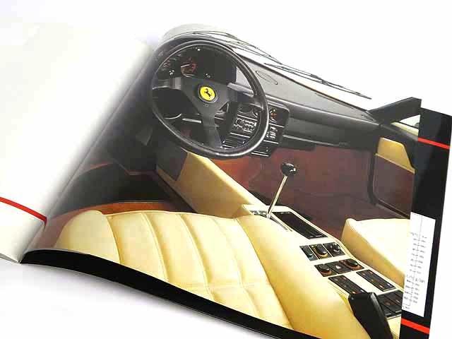 フェラーリ/FerrariGTB turbo/GTS turboカタログ★中古品★0521_画像6