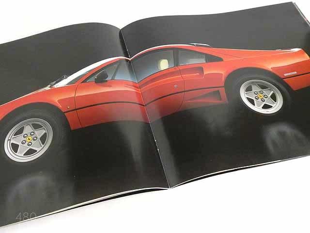 フェラーリ/FerrariGTB turbo/GTS turboカタログ★中古品★0521_画像4