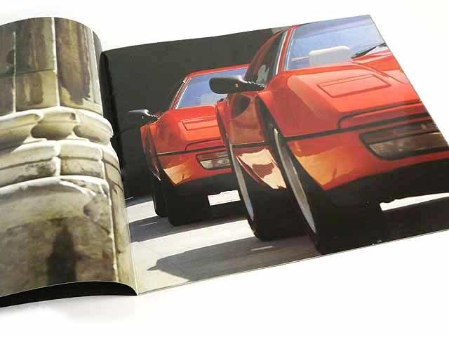 フェラーリ/FerrariGTB turbo/GTS turboカタログ★中古品★0521_画像3