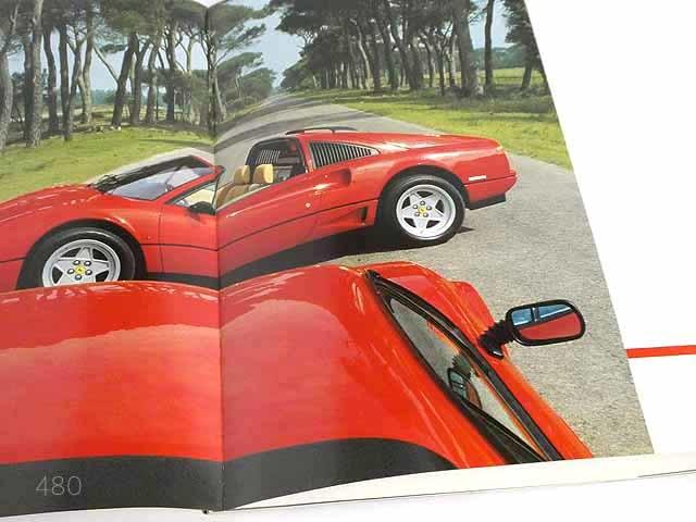 フェラーリ/FerrariGTB turbo/GTS turboカタログ★中古品★0521_画像5