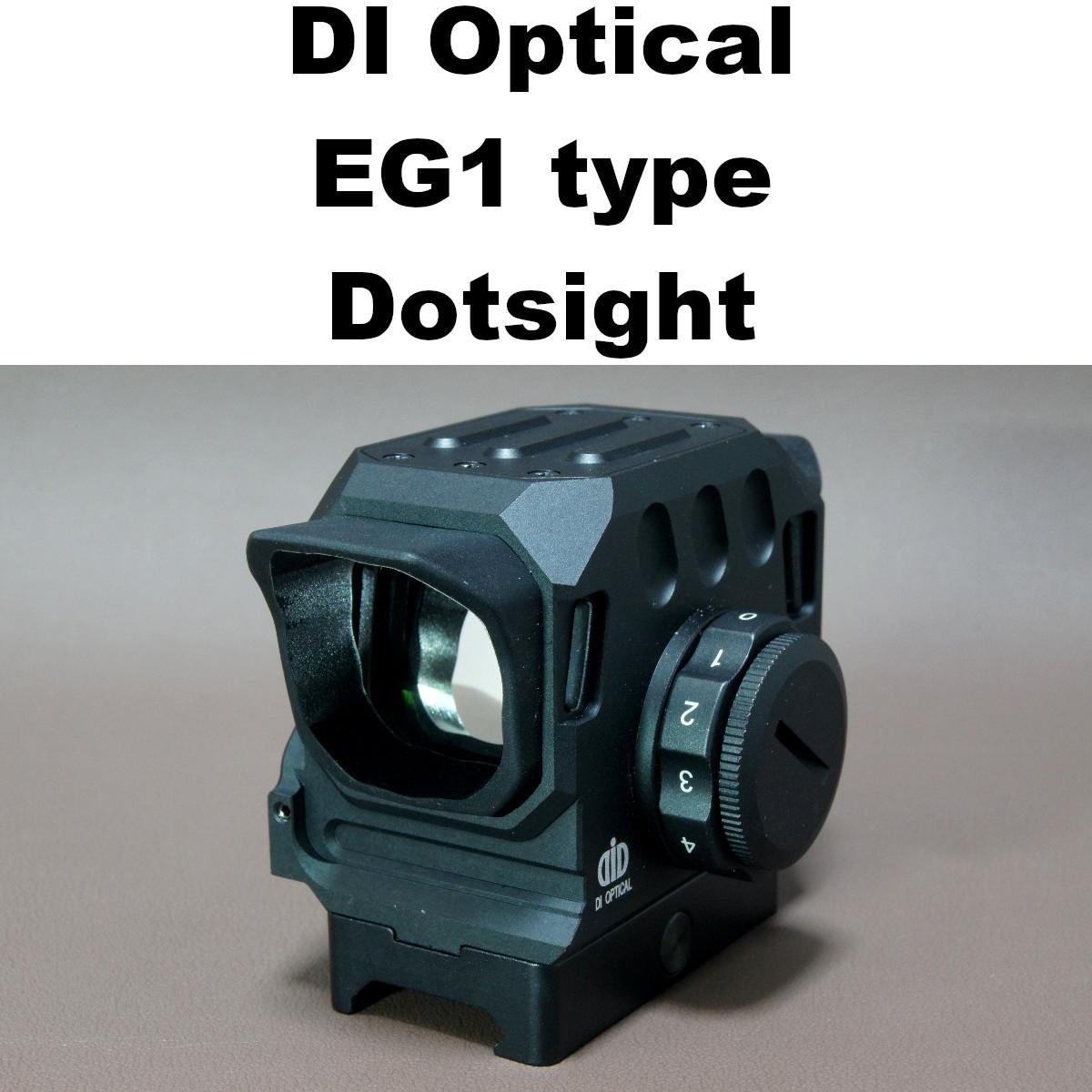 DI Optical EG1 タイプ ドットサイト 559-805 エアガン 電動ガン ガスガン スコープ_画像1