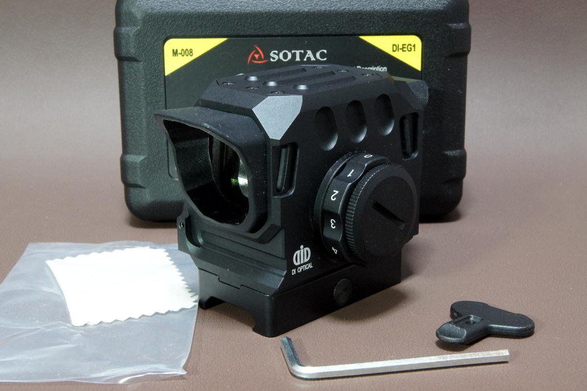 DI Optical EG1 タイプ ドットサイト 559-805 エアガン 電動ガン ガスガン スコープ_画像7