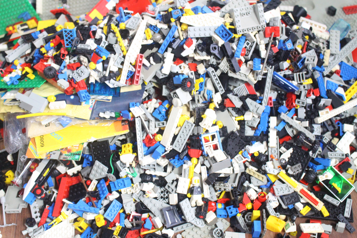 30COF LEGO 大量まとめ レゴブロック 約10kg パーツ 部品_画像2