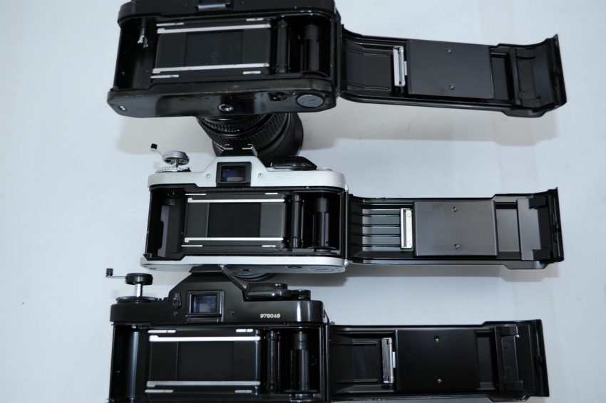【ecoま】キャノン CANON AV-1/A-1/AE-1 一眼レフカメラ・レンズセット3台まとめて ジャンク_画像7