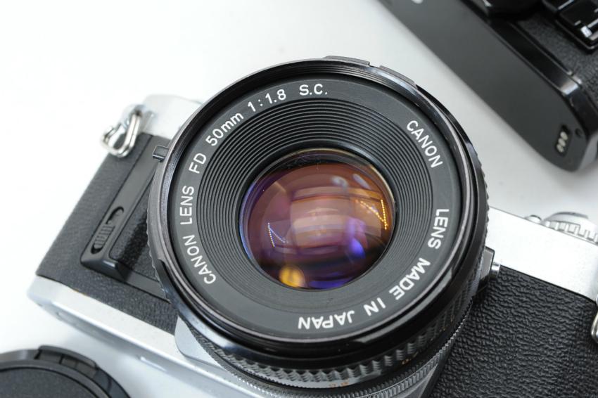 【ecoま】キャノン CANON AV-1/A-1/AE-1 一眼レフカメラ・レンズセット3台まとめて ジャンク_画像8