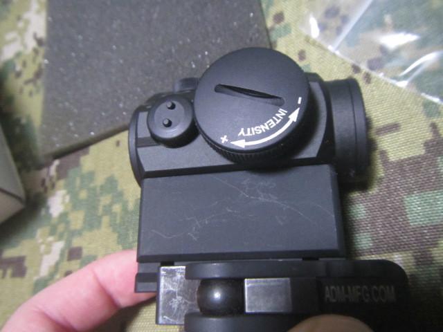実物 AIMPOINT MICRO T-1 4MOA ADM AD-T1 SET _画像3