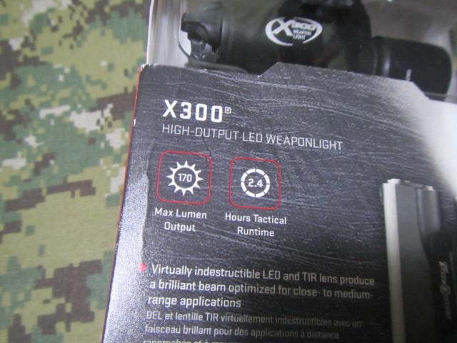 実物 SUREFIRE X300 シュアファイア ウェポンライト_画像2