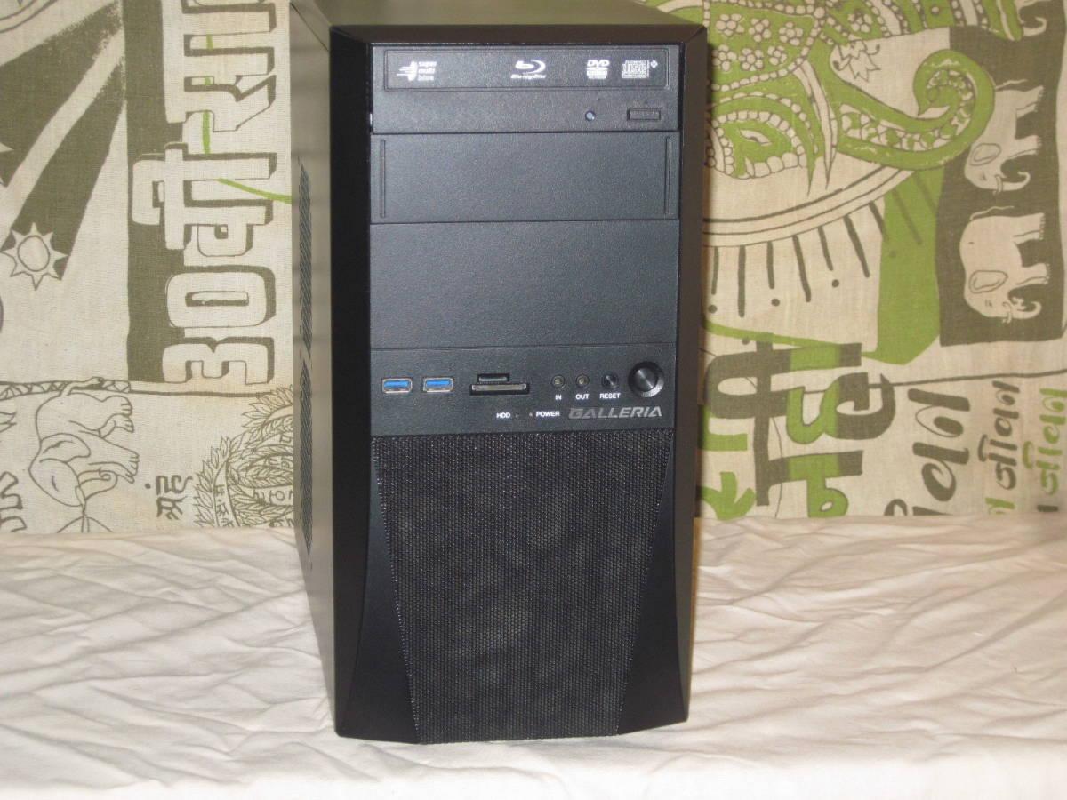 自作PC★Corei5-2500K 3.3~3.7GHz O/C可 Win10Pro★SSD 240GB/メモリ 8G★HDD 1TB/グラフィック GTX650Ti_画像2