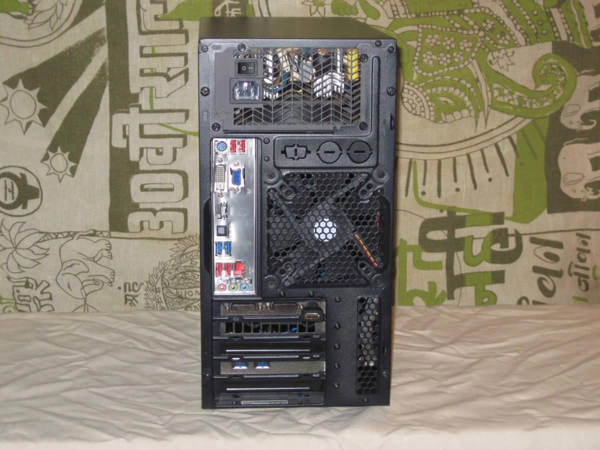 自作PC★Corei5-2500K 3.3~3.7GHz O/C可 Win10Pro★SSD 240GB/メモリ 8G★HDD 1TB/グラフィック GTX650Ti_画像3