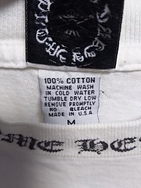 クロムハーツ東京 半袖Tシャツ2枚◆白と黒 超美品 正真正銘本物 タグ確認◆送料無料_画像5