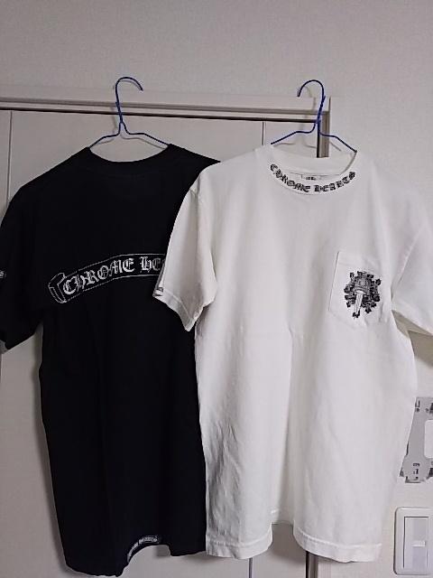 クロムハーツ東京 半袖Tシャツ2枚◆白と黒 超美品 正真正銘本物 タグ確認◆送料無料_画像6