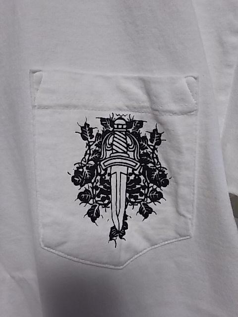 クロムハーツ東京 半袖Tシャツ2枚◆白と黒 超美品 正真正銘本物 タグ確認◆送料無料_画像8