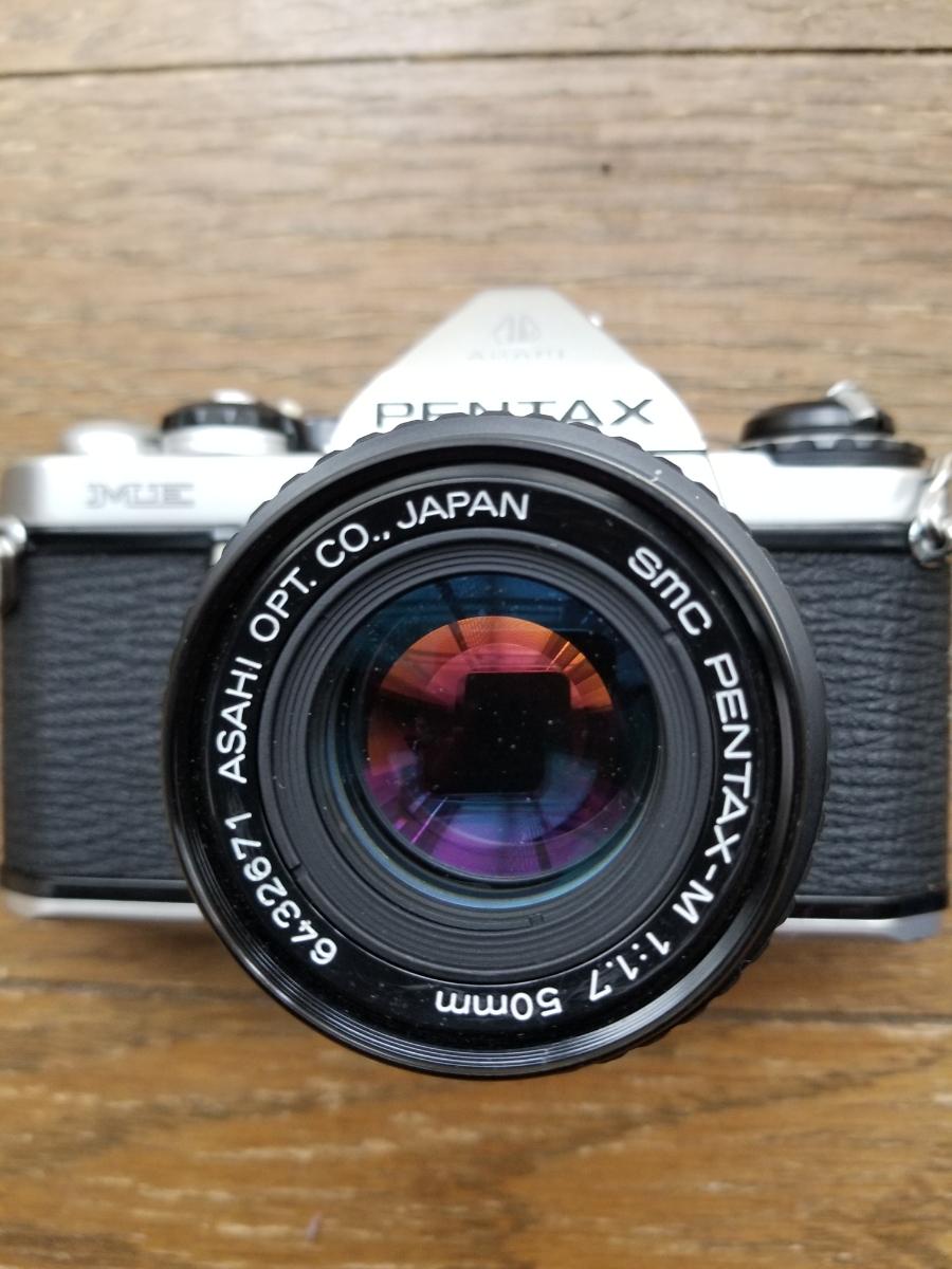 ペンタックスカメラ、レンズ付きシャッター作動、ジャンク扱い_画像4