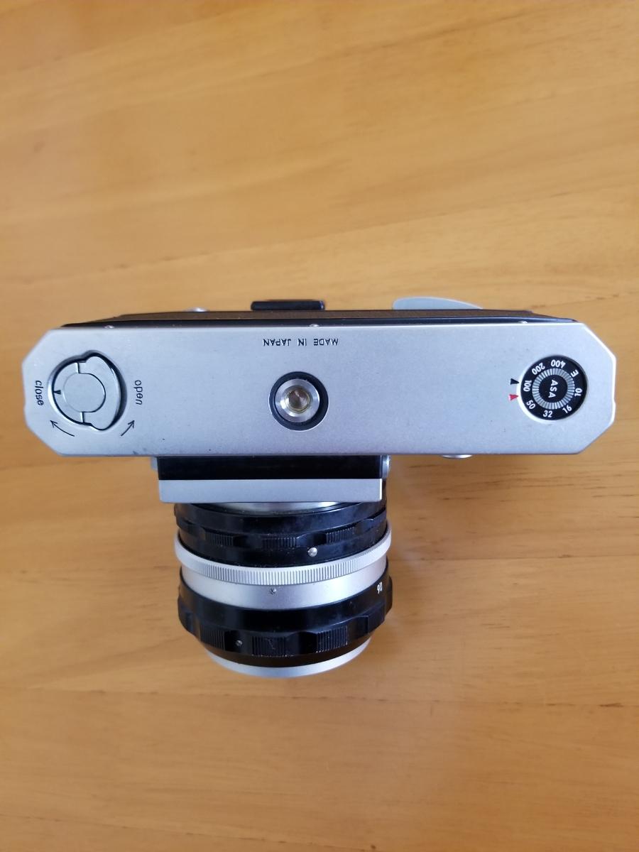 ニコン一眼レフカメラ、シャッター作動、ジャンク扱い_画像4