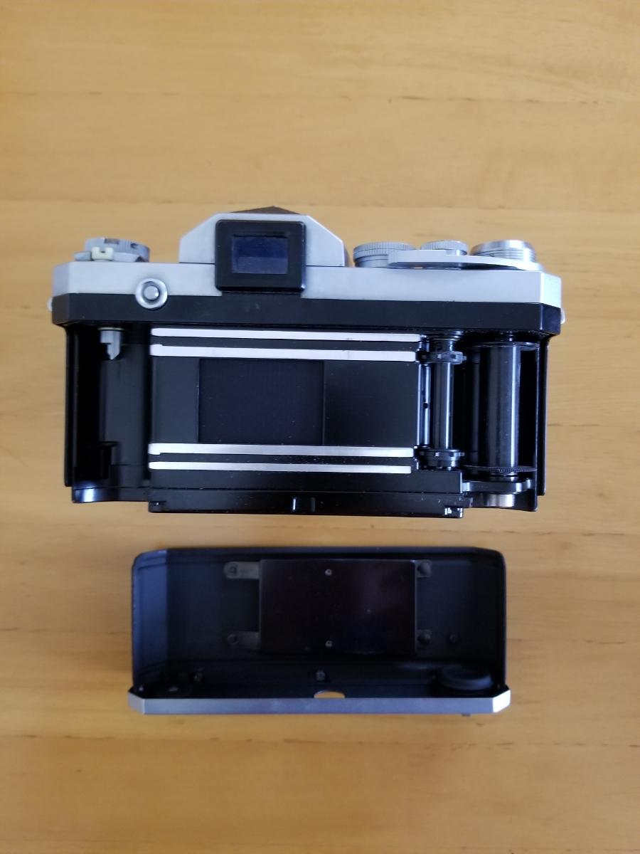 ニコン一眼レフカメラ、シャッター作動、ジャンク扱い_画像5
