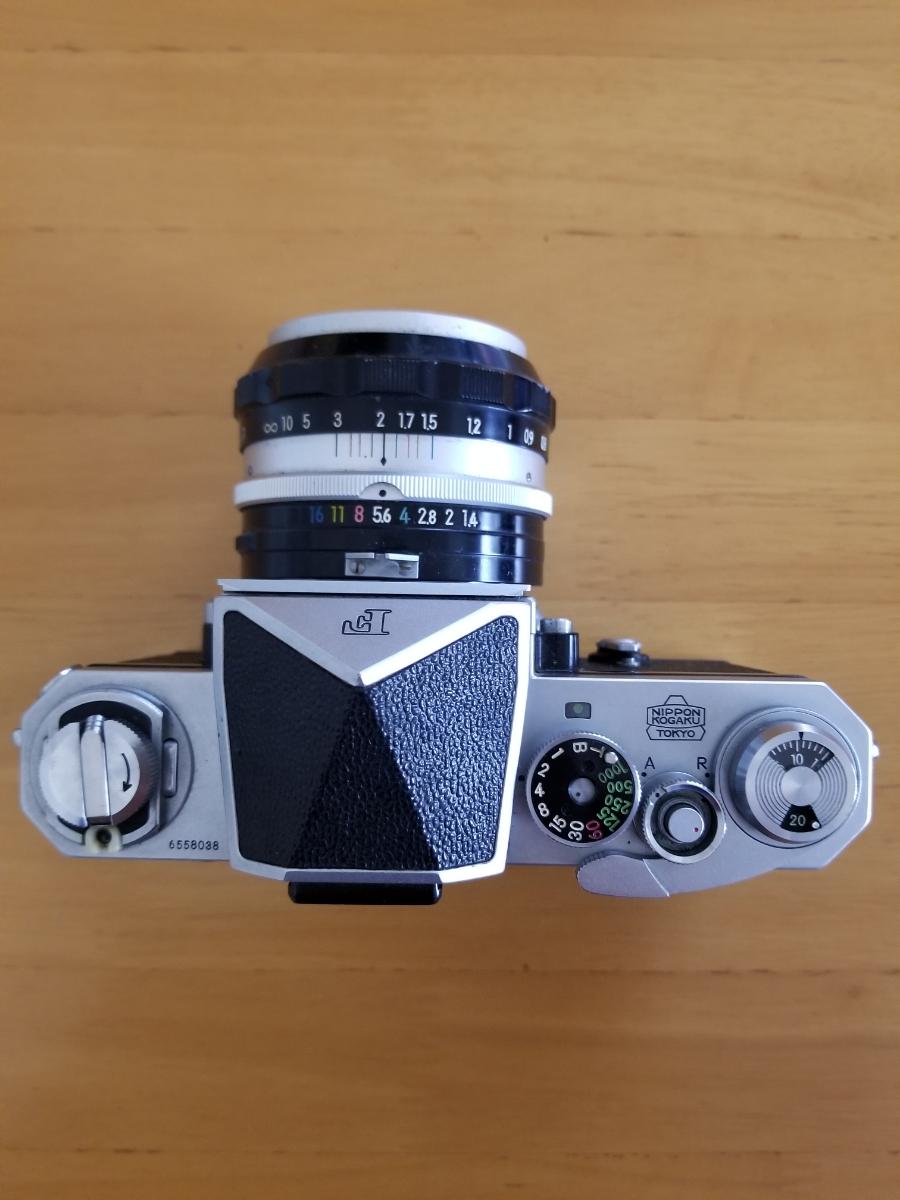 ニコン一眼レフカメラ、シャッター作動、ジャンク扱い_画像2