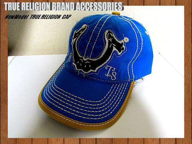 d65c5d8b popular True Religion cap dressing up blue Logo Vintage manner 3D embroidery  Logo large EETS