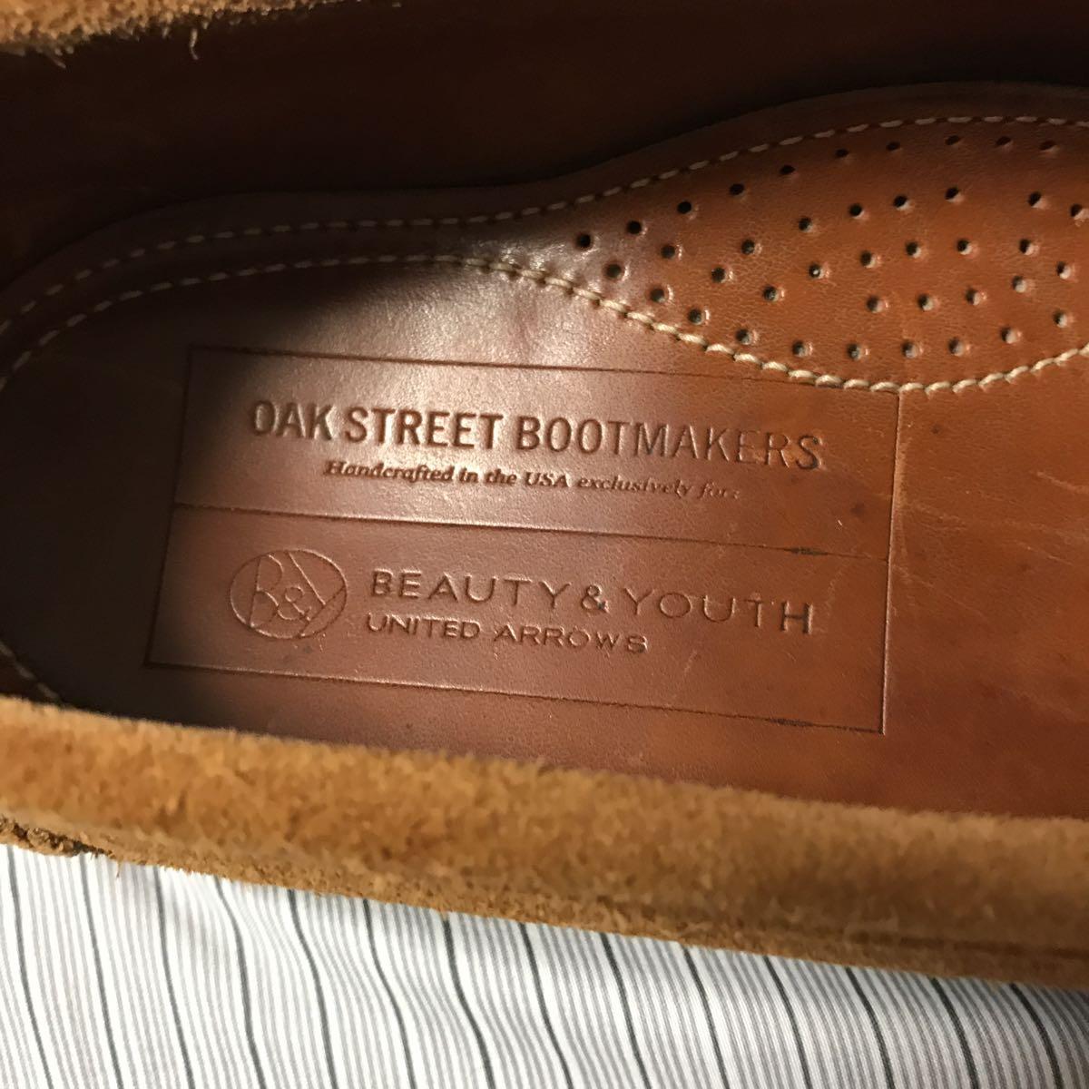 OAK STREET BOOT MAKERS スエードローファー8.0 26.0㎝_画像9