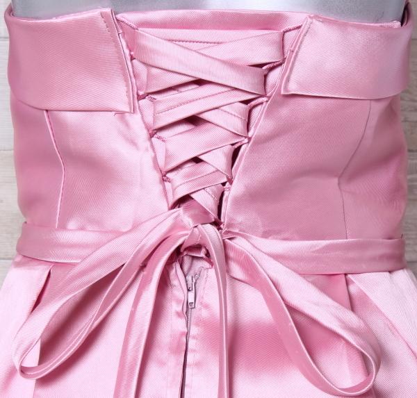 ベアトップドレス 大きいサイズ カラードレス パーティードレス ウエディングドレス 編み上げ 発表会 お呼ばれ 二次会 結婚式_画像5