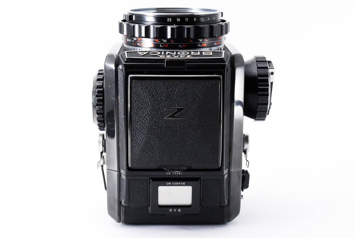 #298228 Zenzabronica ゼンザブロニカ S2 中判カメラ f/2.8 75mm /キャップ付き_画像4