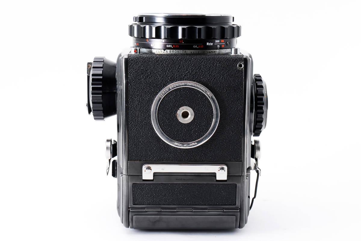 #298228 Zenzabronica ゼンザブロニカ S2 中判カメラ f/2.8 75mm /キャップ付き_画像5
