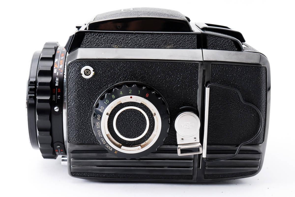 #298228 Zenzabronica ゼンザブロニカ S2 中判カメラ f/2.8 75mm /キャップ付き_画像6