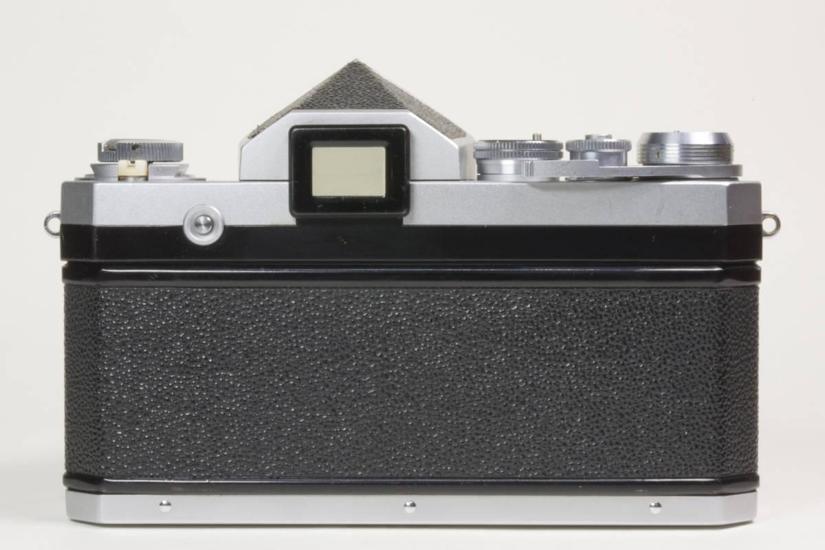 ニコンF アイレベル シルバー  Nikkor-H 50mm F1:2.0 動作確認品(これは美品です)_画像4