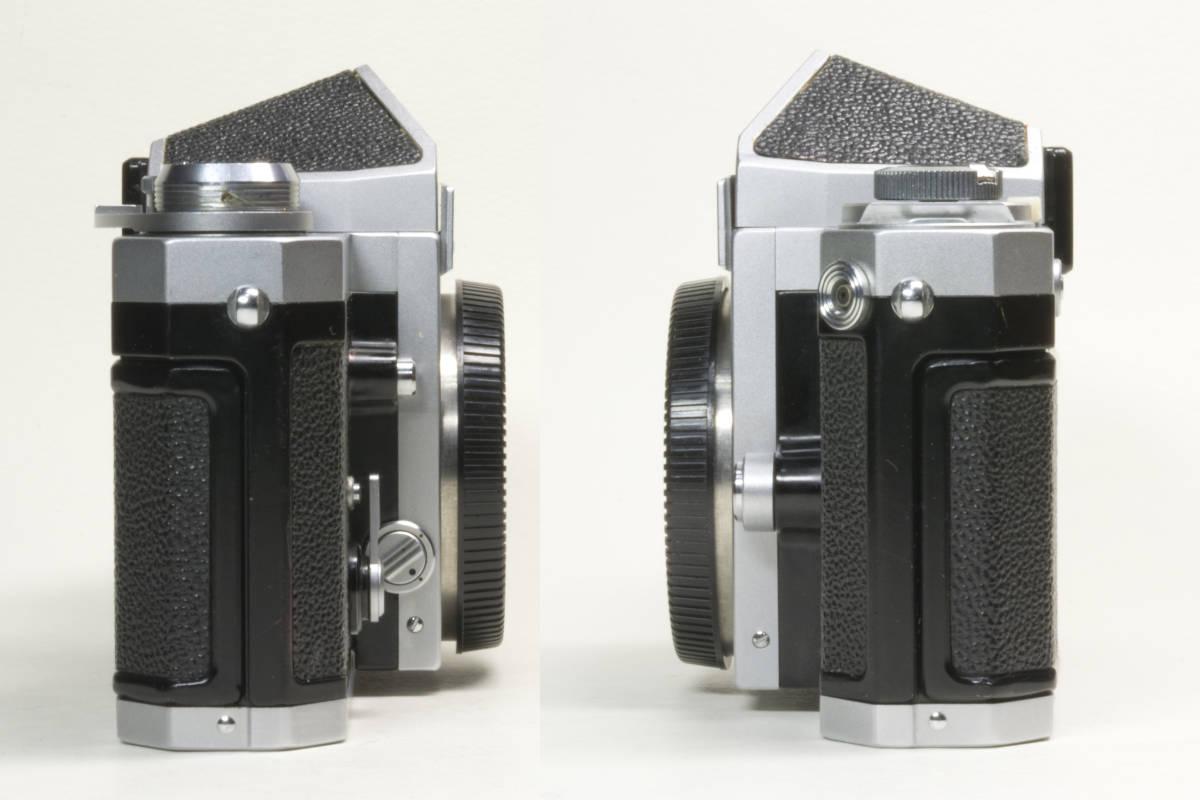ニコンF アイレベル シルバー  Nikkor-H 50mm F1:2.0 動作確認品(これは美品です)_画像6