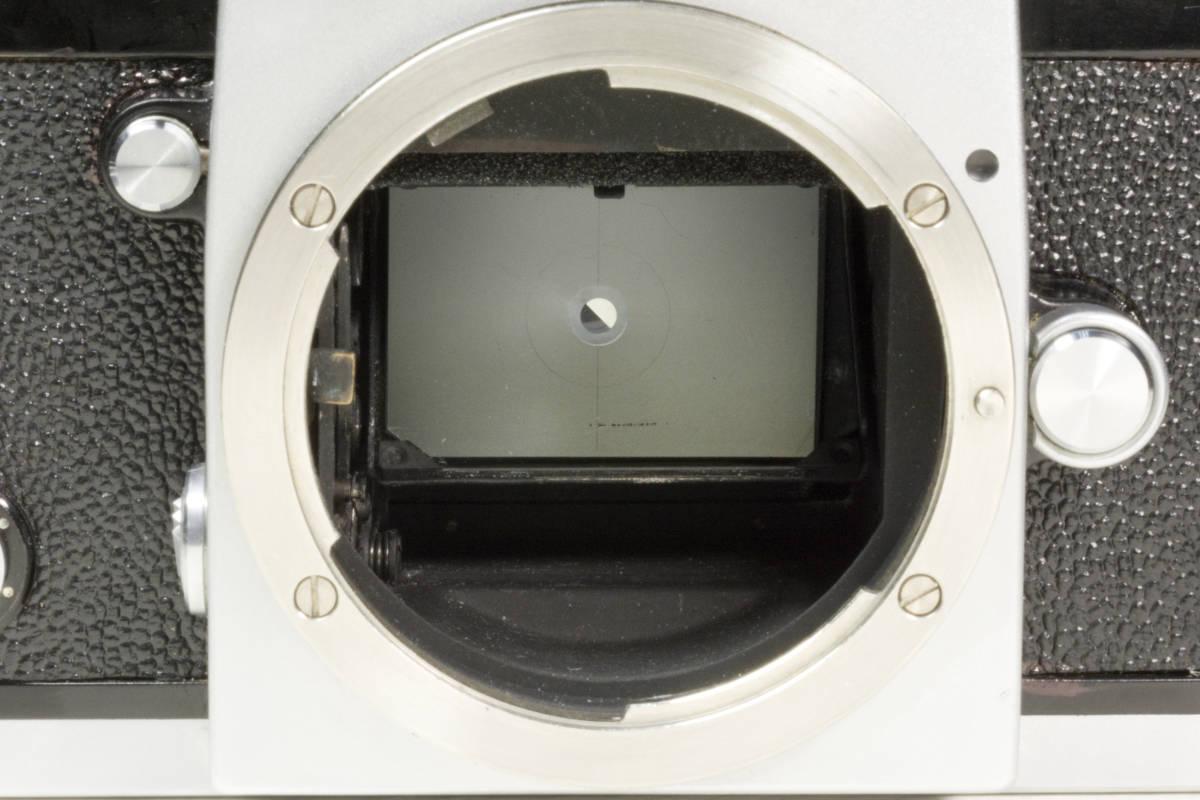ニコンF アイレベル シルバー  Nikkor-H 50mm F1:2.0 動作確認品(これは美品です)_画像7