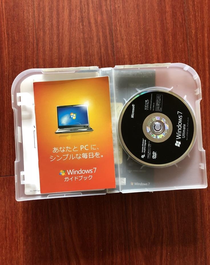 ■新品未開封■ Windows 7 Ultimate パッケージ版■ 100%認証保証 ■_画像2