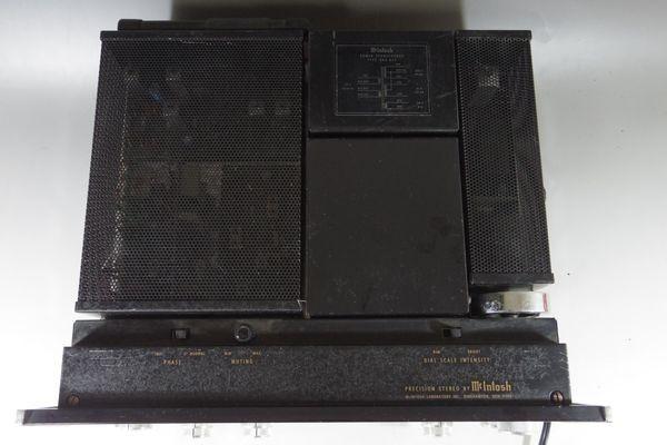 i15◆McIntosh マッキントッシュ MX113 ステレオチューナー プリアンプ ※通電のみ確認 ジャンク /アンプ 送:100_画像5