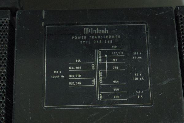i15◆McIntosh マッキントッシュ MX113 ステレオチューナー プリアンプ ※通電のみ確認 ジャンク /アンプ 送:100_画像8