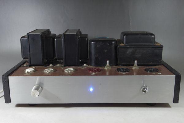 N29◆自作 真空管アンプ/TANGO,タンゴトランス U-808 2台/SANSUI/サンスイ P-44B/LUX/ラックス 4BC 1.3/チョークコイル 送:100