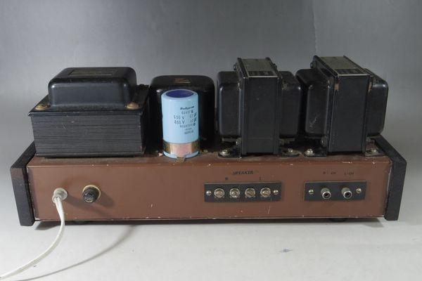 N29◆自作 真空管アンプ/TANGO,タンゴトランス U-808 2台/SANSUI/サンスイ P-44B/LUX/ラックス 4BC 1.3/チョークコイル 送:100_画像5
