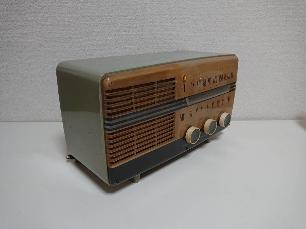 真空管ラジオ ゼネラル 5A106 ジャンク_画像4