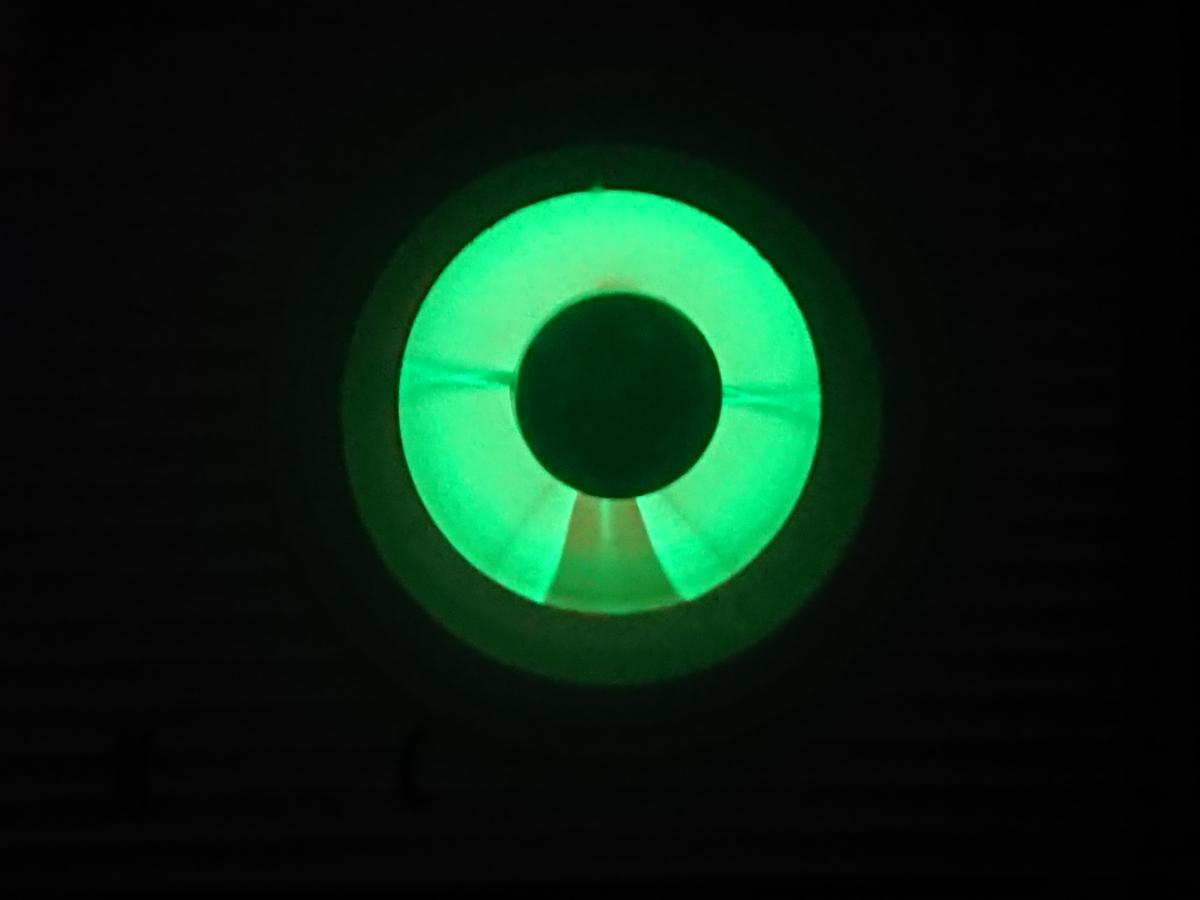 【整備済】 ナショナル 2スピーカー 真空管ラジオ GM-520 マジックアイ●受信様子動画有り●_画像10