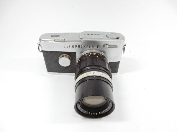 OLYMPUS オリンパス PEN-FT E.Zuiko Auto-T 1:3.5 f=100mm G.ZUIKO Auto-S 1:1.4 f=40mm レンズ2個付 一眼レフカメラ_画像2