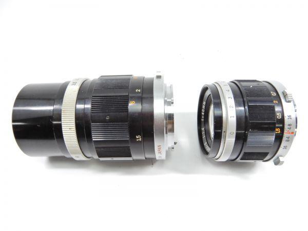 OLYMPUS オリンパス PEN-FT E.Zuiko Auto-T 1:3.5 f=100mm G.ZUIKO Auto-S 1:1.4 f=40mm レンズ2個付 一眼レフカメラ_画像8