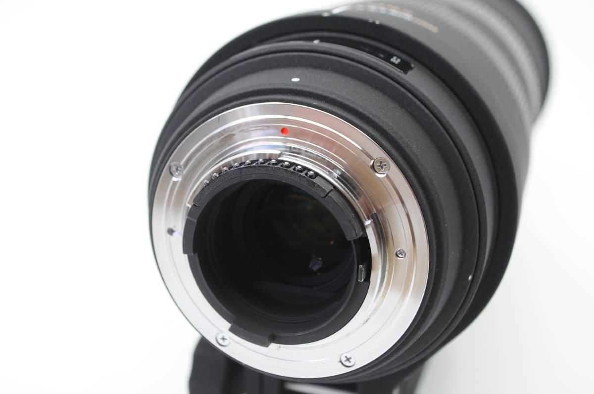 1円~★極上美品★ SIGMA シグマ APO 150-500mm F5-6.3 DG OS HSM 元箱 付属品一式 Nikon ニコン用_画像3