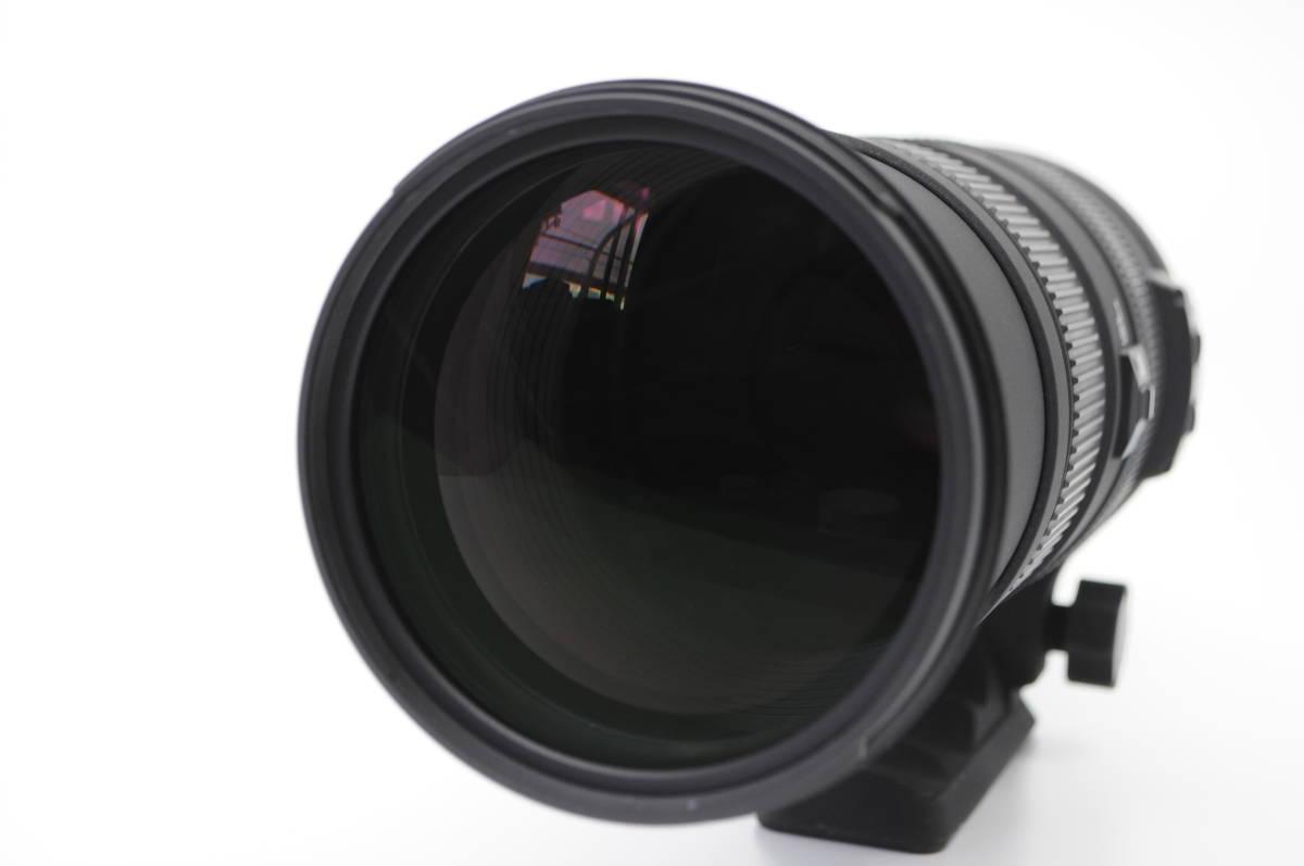 1円~★極上美品★ SIGMA シグマ APO 150-500mm F5-6.3 DG OS HSM 元箱 付属品一式 Nikon ニコン用_画像2